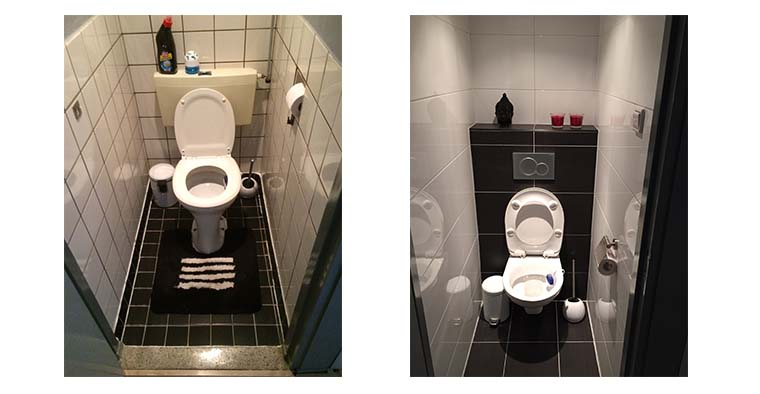 Toilet renovatie